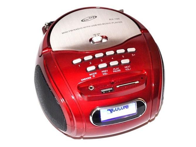 Бумбокс Golon MP3 Колонка Спикер RX 186 Радио