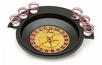Игра для Веселой Компании Пьяная Рулетка 6 Стопок, фото 1