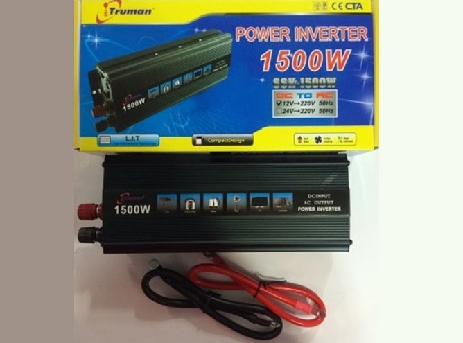 Преобразователь Тruman 1500W 12V 220V Инвертор, фото 1