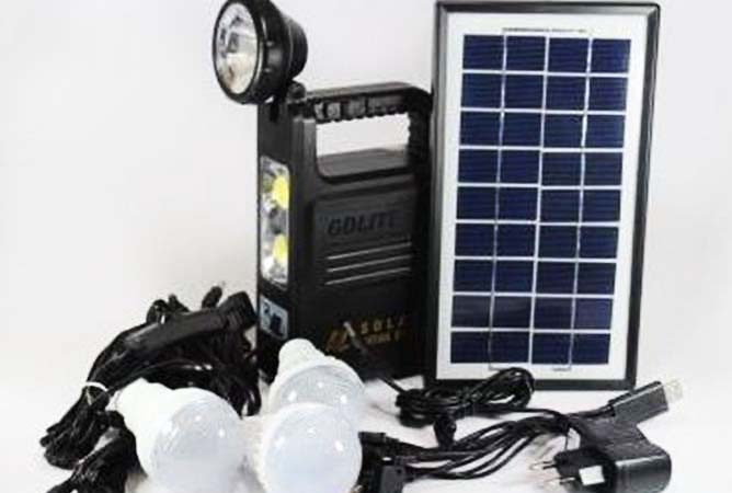 Система Освещения GD 8033 Solar Board
