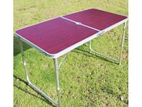 Складной Стол Туристический Folding Table Convenient to Take 600 х 1200, фото 1