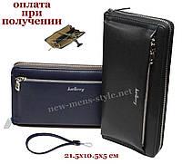 Чоловічий шкіряний гаманець портмоне клатч барсетка барсетка Baellerry NEW, фото 1