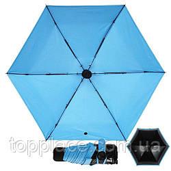 Складной мини зонт Black Lemon Blue (D1010050038)