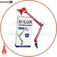 Delux Светильник настольный DELUX TF-06_E27 красный