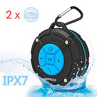 Портативная  Bluetooth колонка переносная Toproad IPX7  с микрофоном