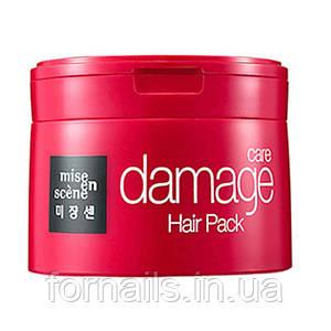 Восстанавливающая маска для волос, Mise en Scene Damage Care Mask 150 мл