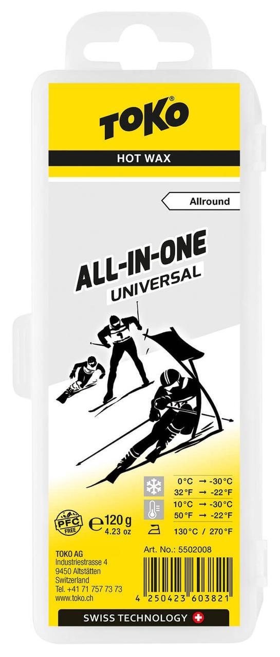 Воск Toko All-in-one Universal 120 g