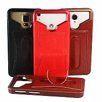 Бампер для смартфона Alcatel One Touch Pop 3 5025D с отделением для  пластиковой карты