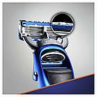 Подарочный набор Gillette Fusion ProGlide Styler (1 кассета ProGlide Power + 3 насадки + подставка+гель) 01200, фото 3