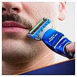 Подарочный набор Gillette Fusion ProGlide Styler (1 кассета ProGlide Power + 3 насадки + подставка+гель) 01200, фото 4