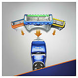 Подарочный набор Gillette Fusion ProGlide Styler (1 кассета ProGlide Power + 3 насадки + подставка+гель) 01200, фото 5