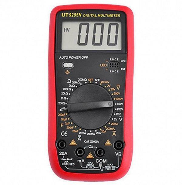 Цифровой мультиметр Ut9205n