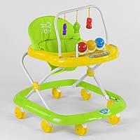 Ходунки Joy 992 музыкальная панель Зелено-желтый R189864