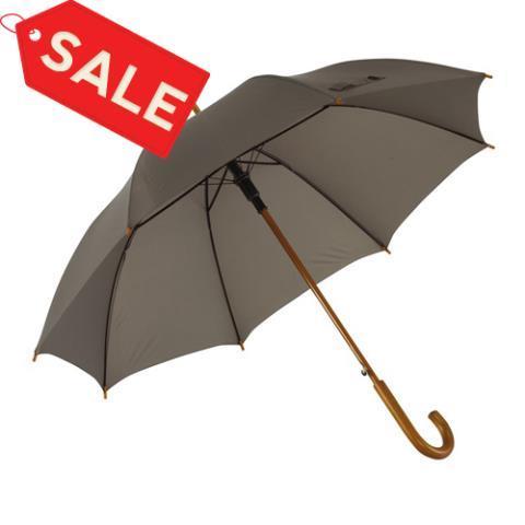 Зонт трость автомат Tango серый ф103 см