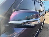 Lexus LX570 Полоски на зеркала 2012↗ (2 шт, хром)