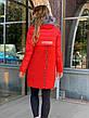Зимнее женское пальто  с натуральным мехом чернобурки, фото 5