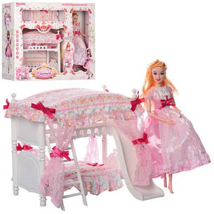 Набор Барби спальня мебель для куклы  6951-A, фото 2