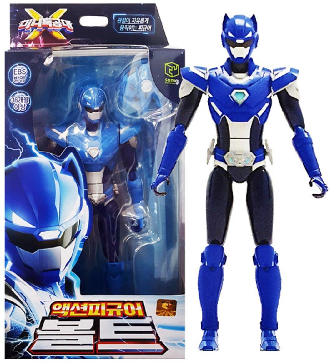 Фигурка игрушка робот Мини Форс Х Вольт Miniforce X Bolt Korean Robot