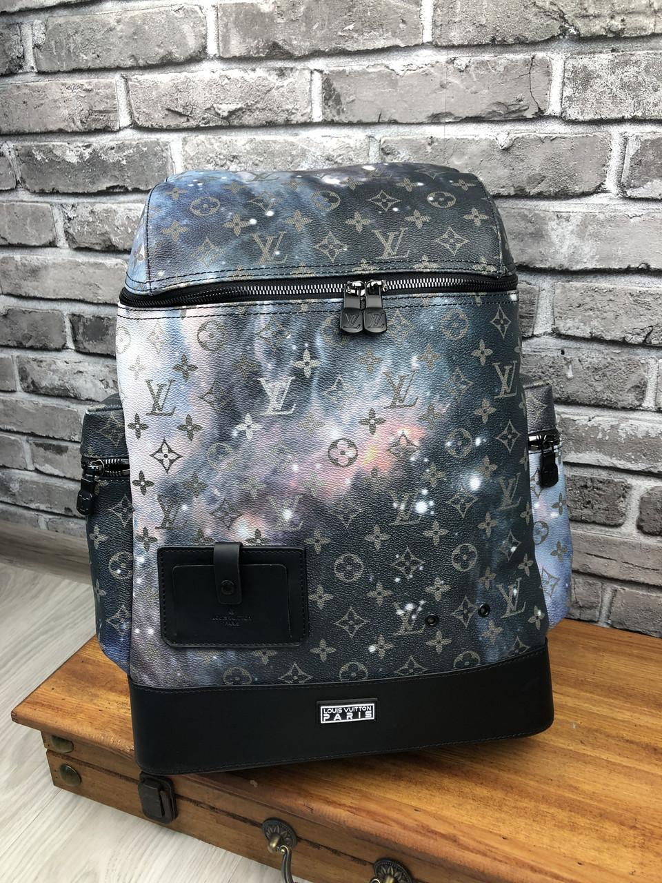 Рюкзак ранец портфель мужской женский премиум LOUIS VUITTON копия реплика