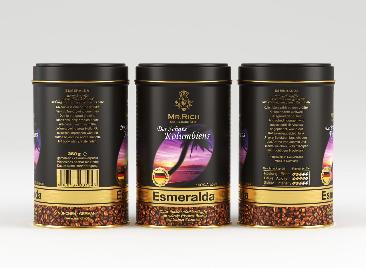 Mr.Rich Esmeralda 250 г. молотый