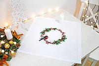 Luca-s Набор для вышивания Рождественский венок
