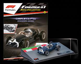 Модель коллекционная Formula 1 (Формула 1) Centauria (1:43) №19 - Cooper T51 Стирлинг Мосс (1959)