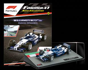 Модель коллекционная Formula 1 (Формула 1) Centauria (1:43) №20 - Williams FW23 Ральф Шумахер (2001)