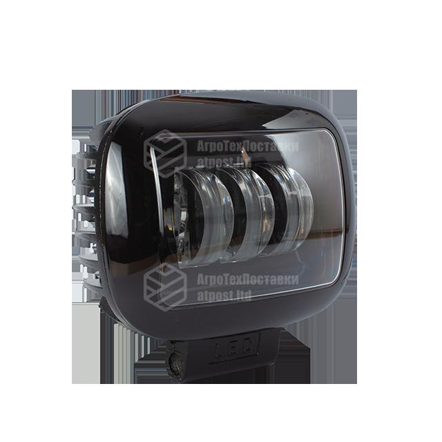 Фара LED прямоугольная 30W (3 диода) black