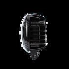 Фара LED прямоугольная 30W (3 диода) black, фото 2