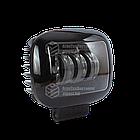 Фара LED прямоугольная 30W (3 диода) black, фото 3