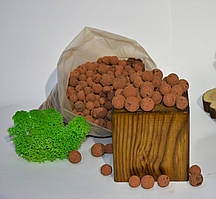 Керамзит PCC, Субстрат для гидропоники, дренаж, 1л