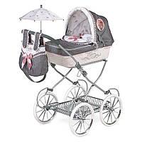 Лялькова коляска з сумкою і парасолькою 81см Реборн 81031,DeCuevas, фото 1