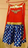 Костюм карнавальный Чудо женщина Wonder Woman Размер М (лицензионный)