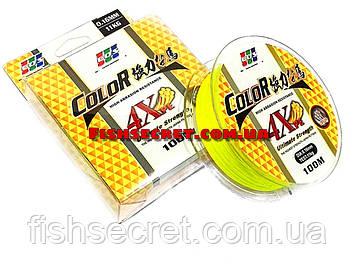 Шнур желтый EOS Ultimate Strength 4Xpe