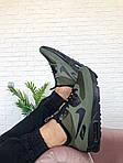 Чоловічі зимові кросівки Nike Air Max Mid Winter (зелені), фото 2