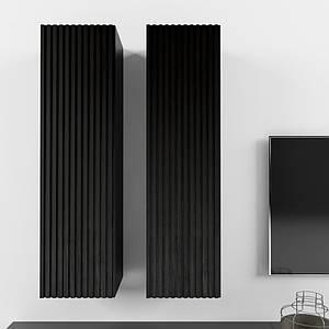 Дизайнерский подвесной шкаф Arris Black TM Esense