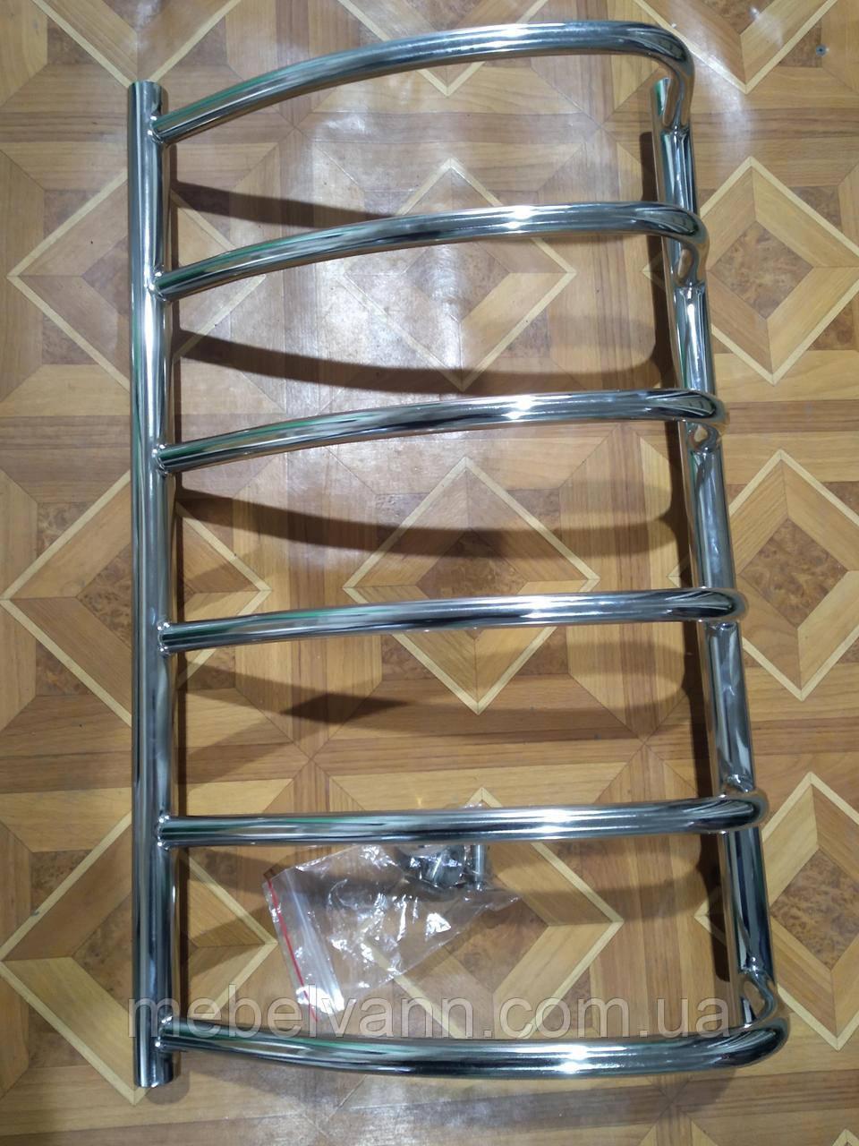 Полотенцесушитель водяной асимметрия VIVIA Браво 700х400