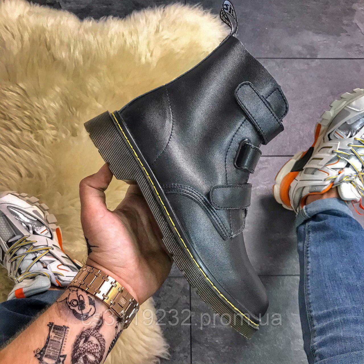 Мужские ботинки Dr Martens Coralia Venice демисезонные (черный)