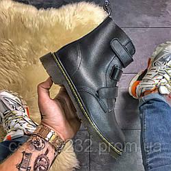 Чоловічі черевики Dr Martens Coralia Місті демісезонні (чорний)