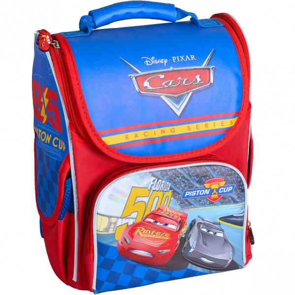 Рюкзак-коробка ортопедический Little Star «Машинка»