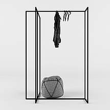 Дизайнерская вешалка-рейл для одежды Corner TM Esense, фото 2