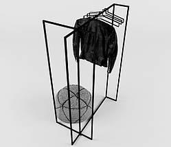 Дизайнерская вешалка-рейл для одежды Corner TM Esense, фото 3