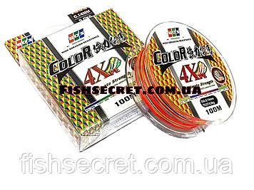 Шнур multicolor EOS Ultimate Stregth 100м 4Хре