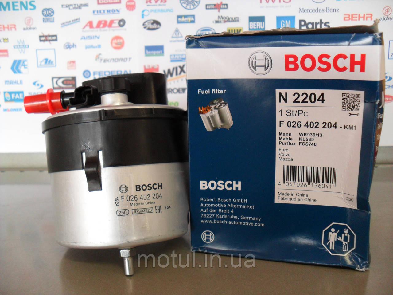 Топливный фильтр Bosch F 026 402 046