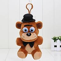 Оригинальная плюшевая игрушка Фреди,  14см,  5 ночей с Фредди Фнаф fnaf, фото 1