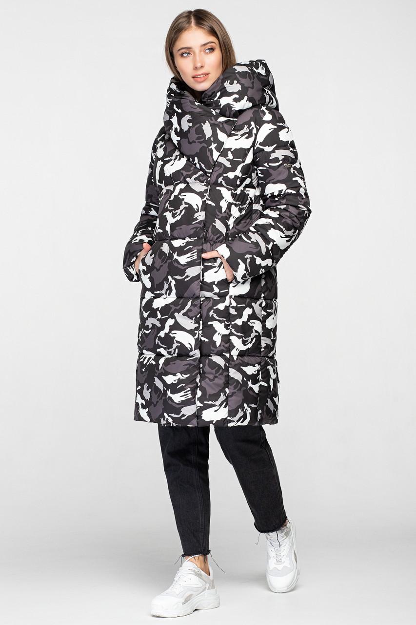 Женская зимняя куртка одеяло KTL-316 из новой коллекции 2018-2019 сафари