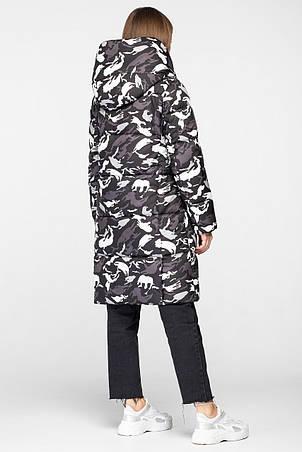 Женская зимняя куртка одеяло KTL-316 из новой коллекции 2018-2019 сафари, фото 2