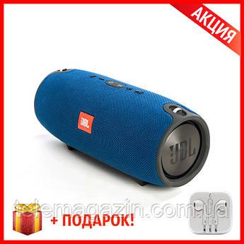 Беспроводная Bluetooth Колонка JBL Xtreme Blue Синяя КАЧЕСТВО + Наушники EarPods в Подарок!