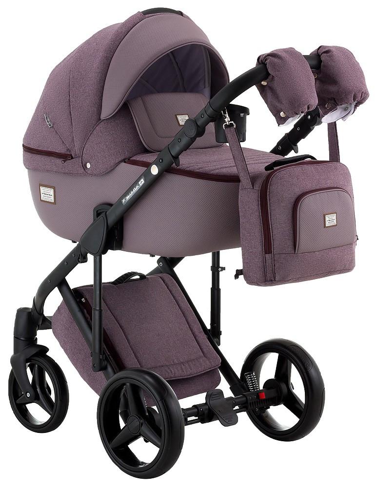 Детская универсальная коляска 2 в 1 Adamex Luciano CR224
