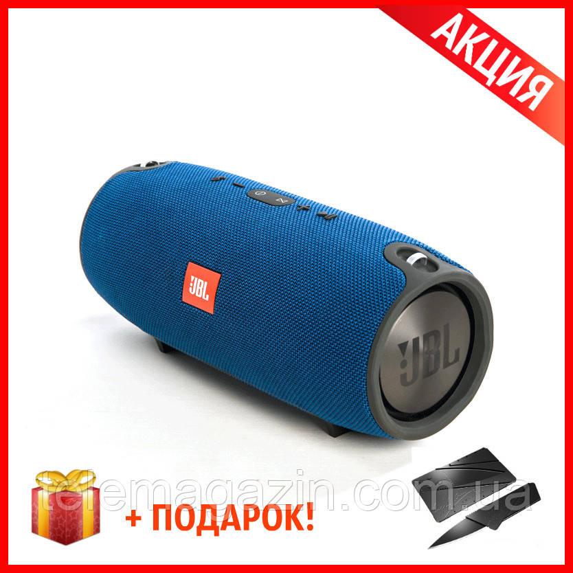 JBL Xtreme Mini Blue Синяя Колонка Портативная КАЧЕСТВО + Нож-Кредитка в Подарок!